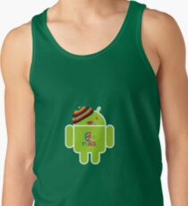 Android smoked Men's Tank Top