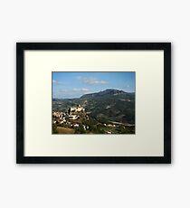 Bardi Castle Framed Print