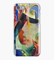 Franz Marc - Broken Forms  iPhone Case/Skin