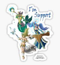 League of Legends Support Composition. Sticker