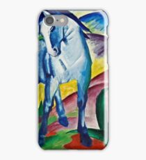 Franz Marc - Blue Horse I (1911)  iPhone Case/Skin