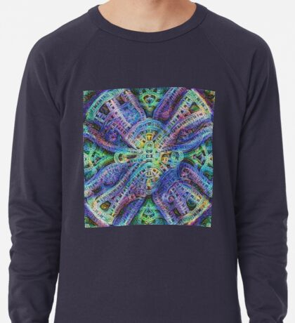#DeepDream Temple Lightweight Sweatshirt