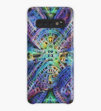 #DeepDream Temple Case/Skin for Samsung Galaxy