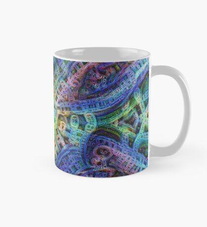 #DeepDream Temple Mug