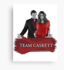 Team Caskett Canvas Print