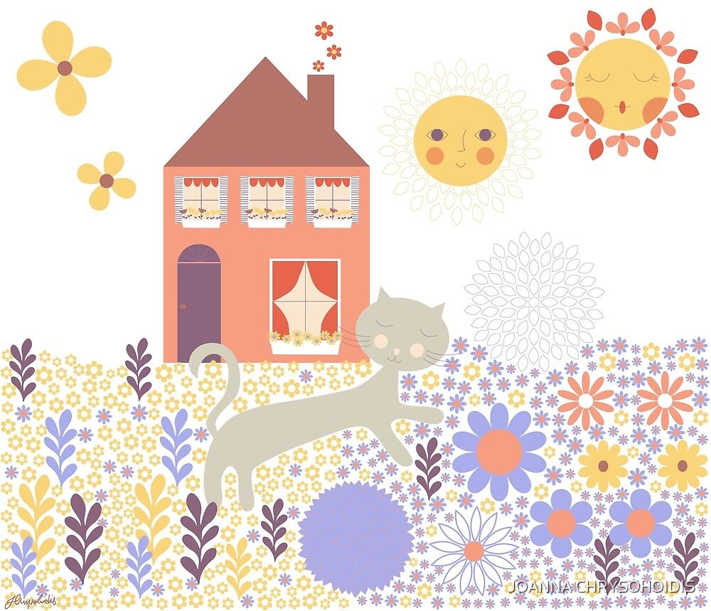 Have A Sunshiny Day by JOANNA CHRYSOHOIDIS