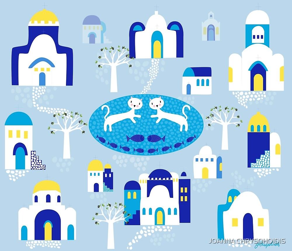 Greek Churches by JOANNA CHRYSOHOIDIS
