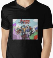 Azeroth time - The Alliance Mens V-Neck T-Shirt