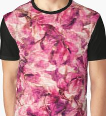 Rose flowers and petals vintage pattern  Graphic T-Shirt
