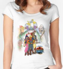 Pirates of Dark Water  Women's Fitted Scoop T-Shirt