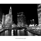 Chicago: Chicago River & Michigan Avenue by tekitsune