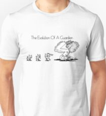 The Evolution Of A Guardian Unisex T-Shirt