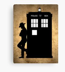 Doctor of The West Canvas Print