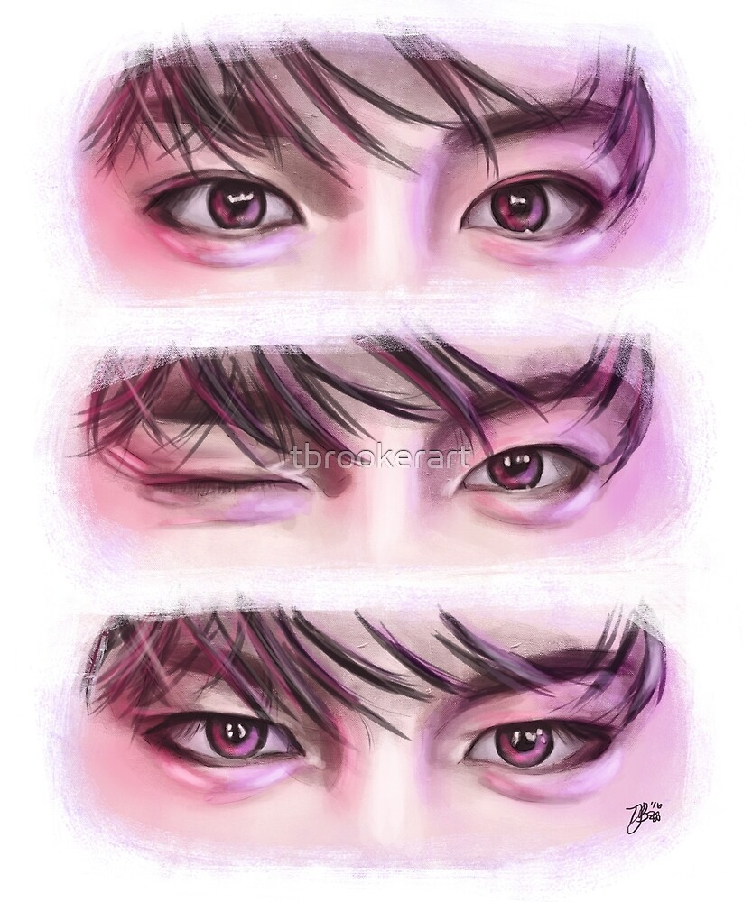Suwoong (Boys Republic) Eyes (Digital Painting) by tbrookerart