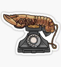 Lobster Phone Sticker