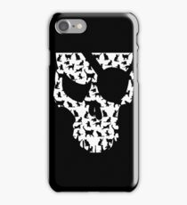 skull and cats  iPhone Case/Skin