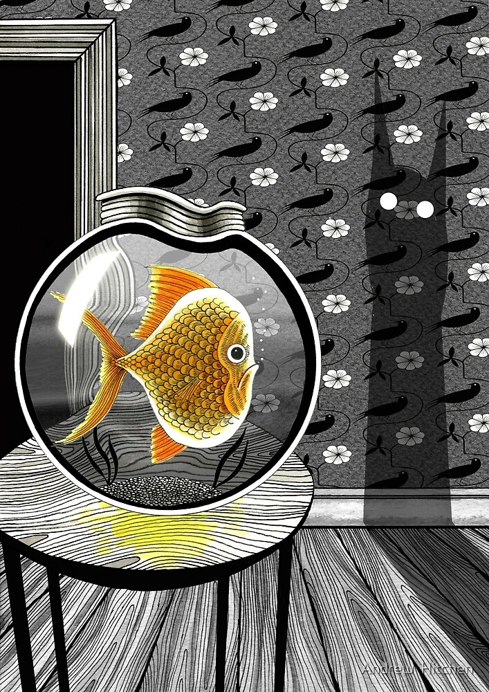 The Haunted Goldfish Bowl  by Andrew  Hitchen
