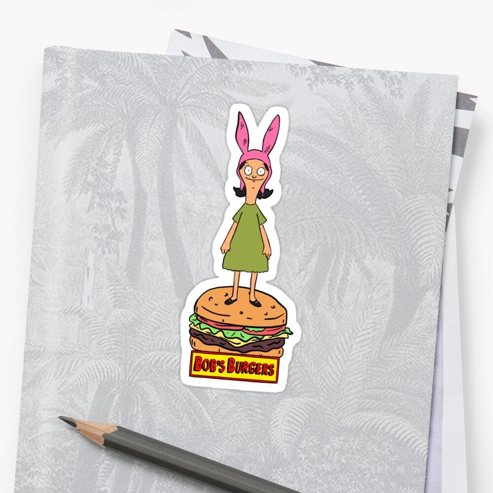 Bobs Burgers- Louise Belcher by penandfelt