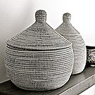 Black and White Baskets by Scott Johnson