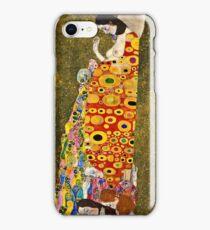 Gustav Klimt - Hope, Ii 1907 - 1908  iPhone Case/Skin