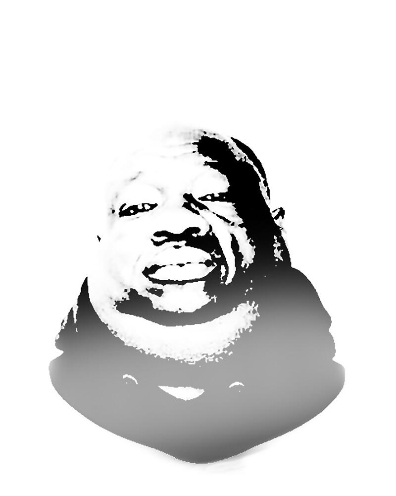 "Black Fat Man ""Kden"" by Jurasbatas"