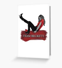 Team Beckett Greeting Card