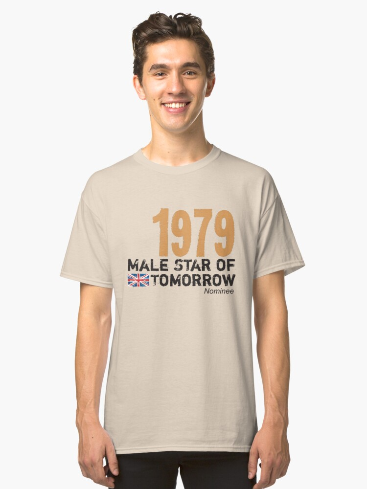 1979 Male Star of Tomorrow Classic T-Shirt Front