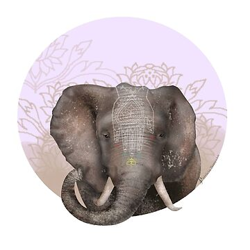Elephant of Savannah by patriciasanjuan