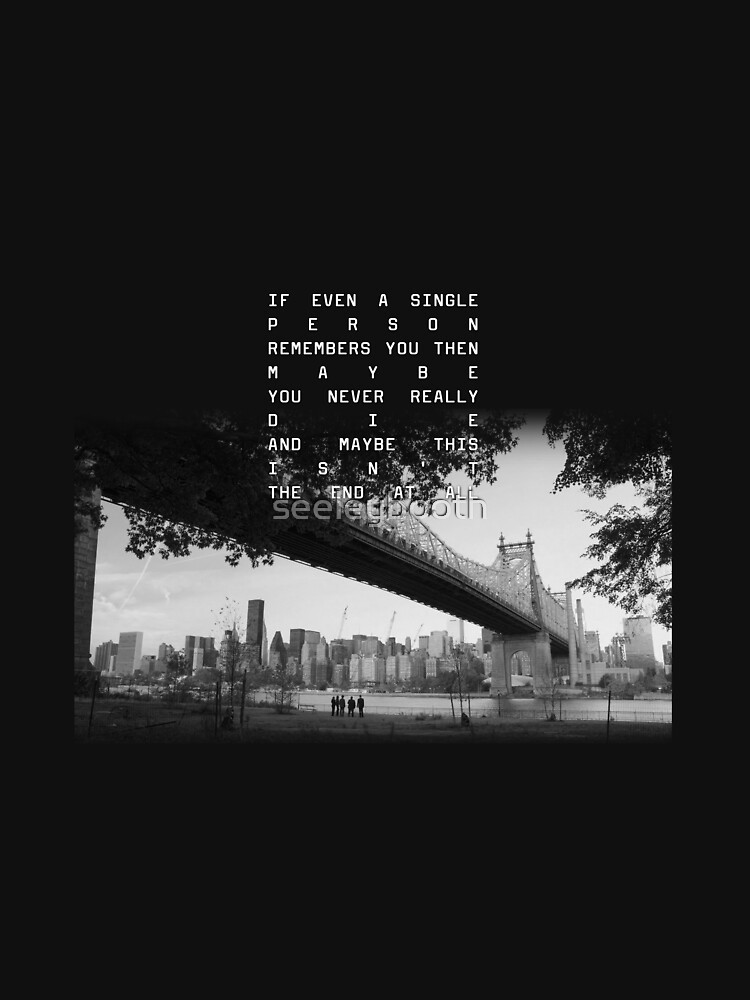 PERSON OF INTEREST FINALE - Maybe This Isn't The End At All by seeleybooth