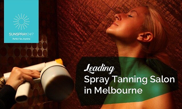 SunSpray 24/7 - Leading Spray Tanning Salon in Melbourne by SunSpray 24/7