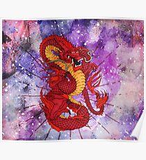 Mystical Dragon Poster