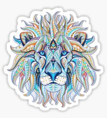 Ethnic Lion Sticker