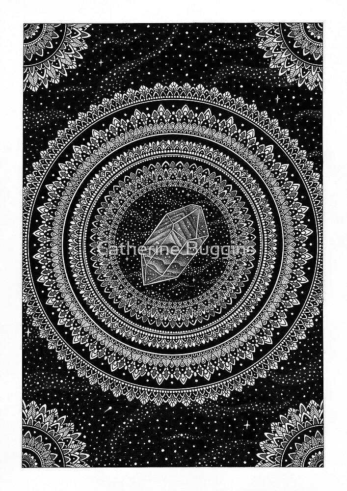 Gravitation - Mandala by Catherine Buggins