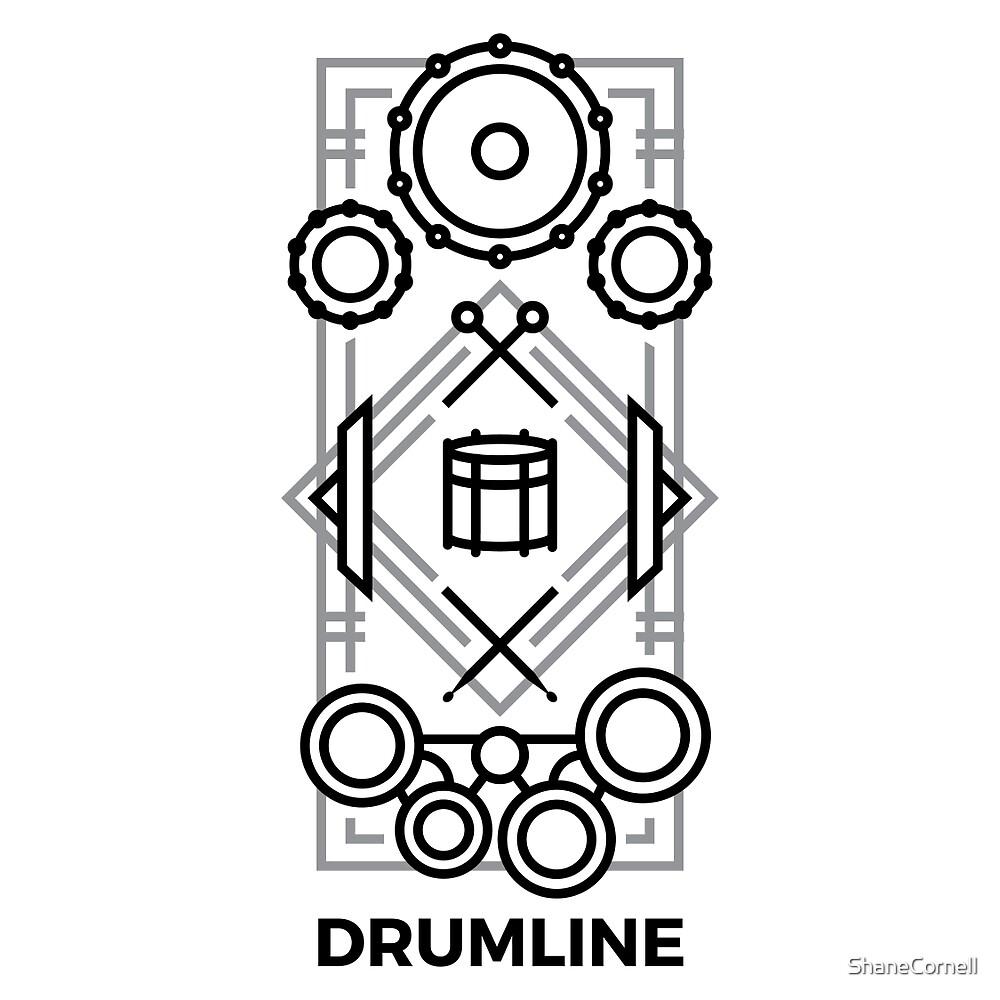 Drumline - Black & Gray by ShaneCornell