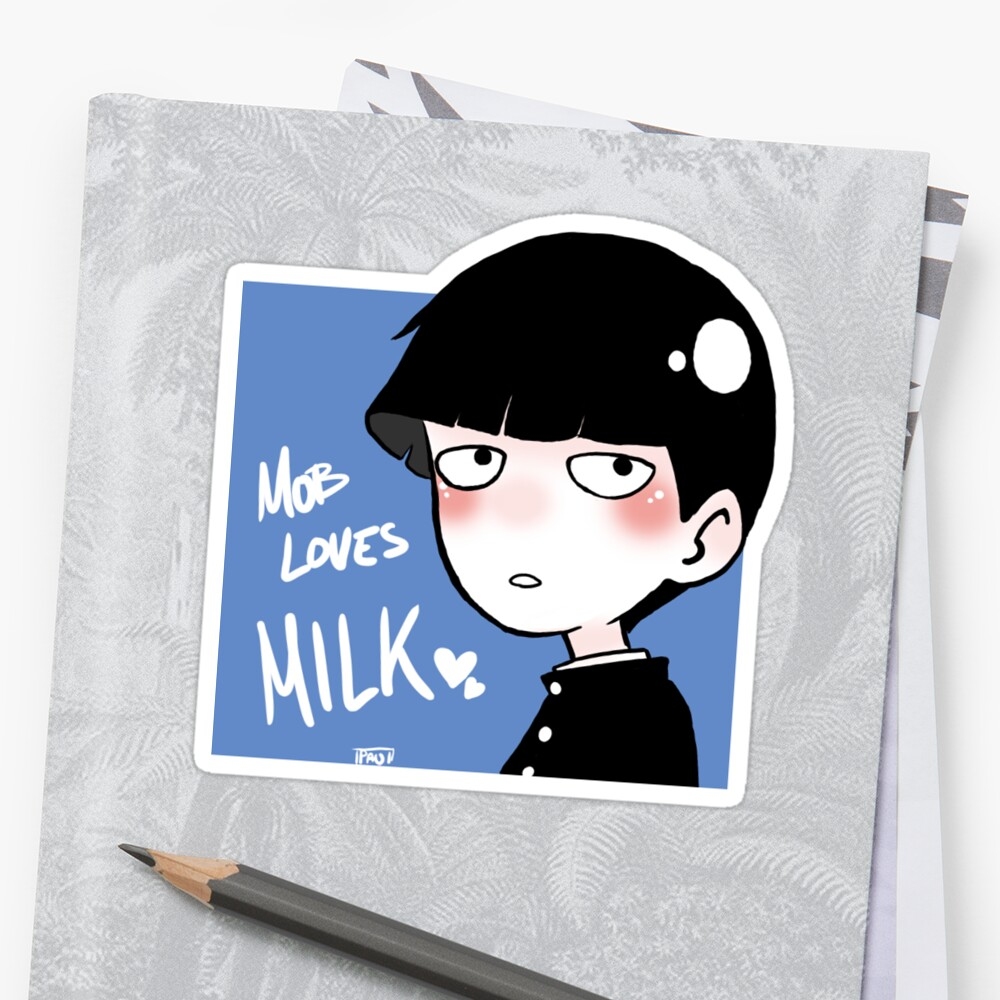 Mob loves Milk by Bubble Paw