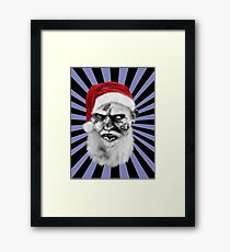 zombie claus Framed Print