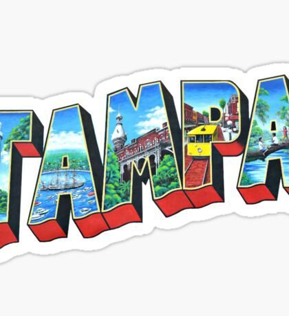 Tampa Sticker
