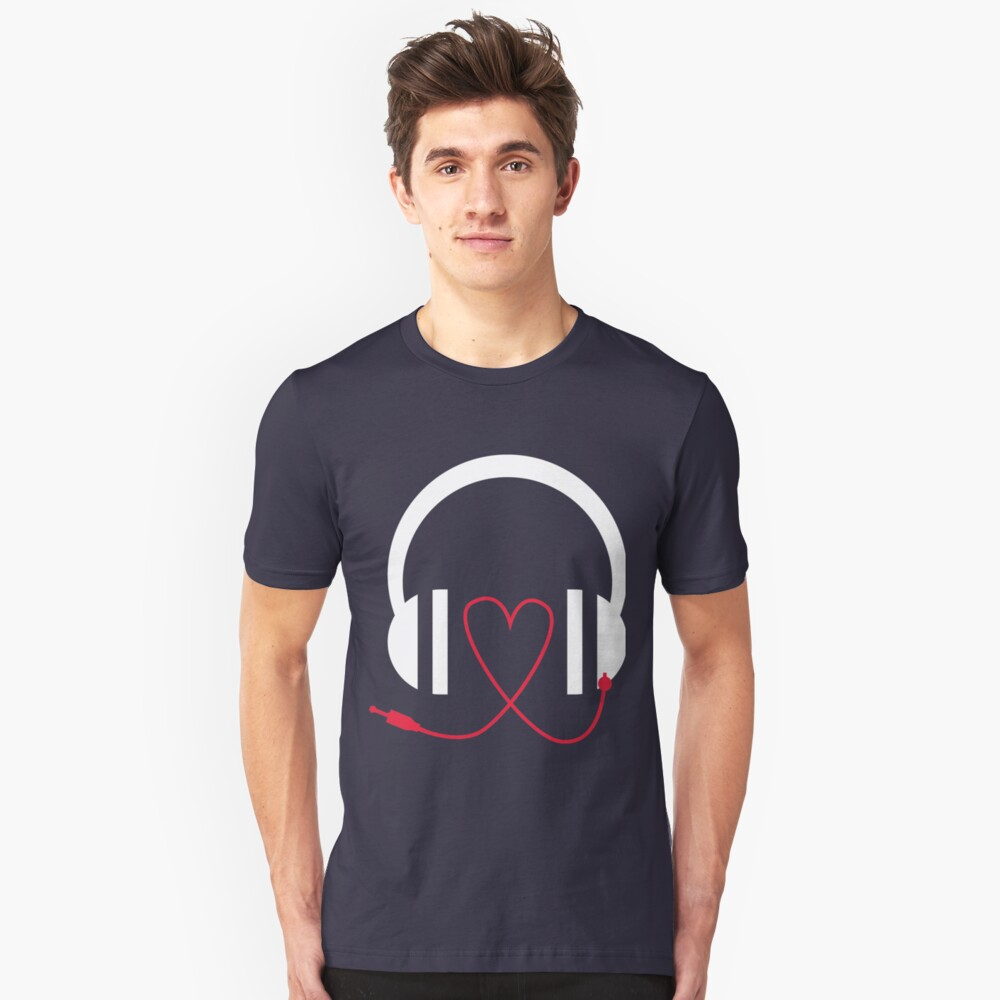 Music is my Unisex T-Shirt Front