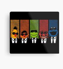 Reservoir Muppets V2 Metal Print