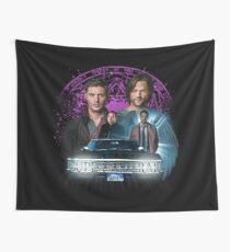 Supernatural The Roads Journey Wall Tapestry