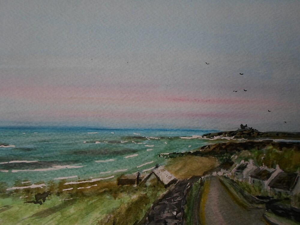 Northumberland Coast by Beswickian