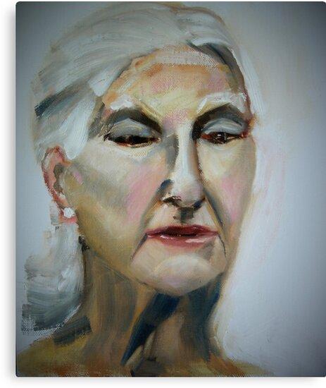 Portrait of a Mother II by AngelaJCartner