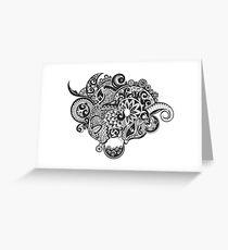 Dream zentangle Greeting Card