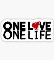 u2 one love one life Sticker