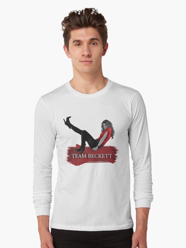 Team Beckett Long Sleeve T-Shirt Front