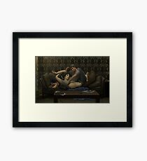submissive Framed Print