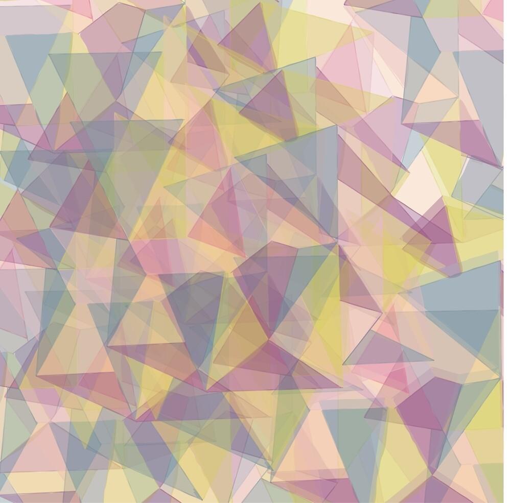 Triangle dull ornament by Vikulina