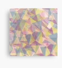 Triangle dull ornament Canvas Print