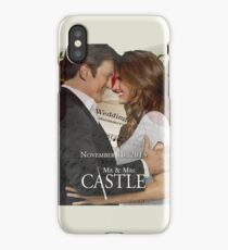 Caskett Wedding iPhone Case