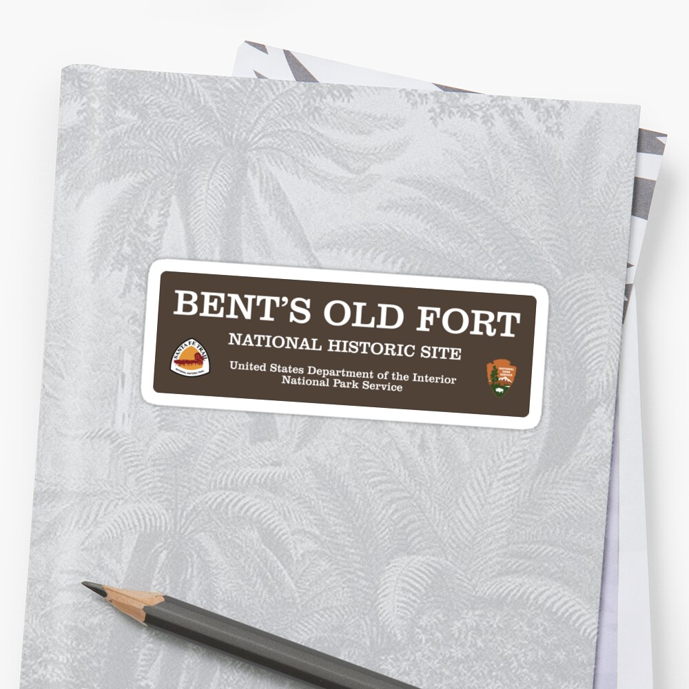 Bent's Old Fort National Historic Site sign by Nyle Buss